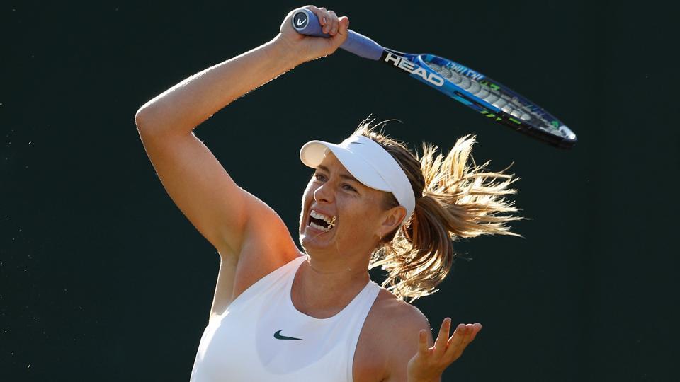 Maria Sharapova,Grand Slam,Wimbledon