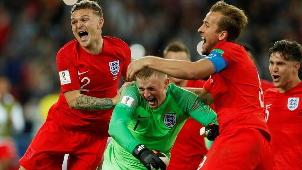 England will face Sweden in the FIFAWorld Cup 2018 quarterfinals.