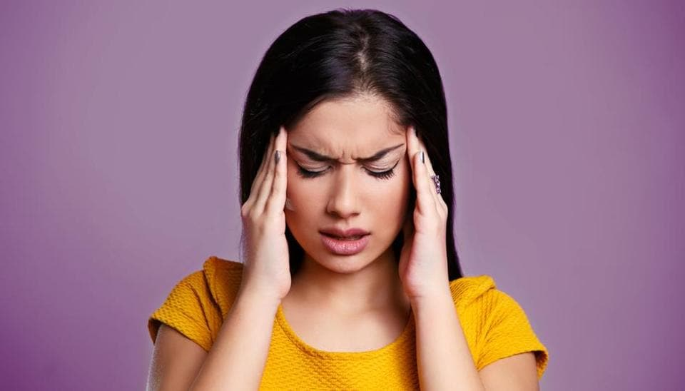 Migraine symptoms: Migraines occurs when the arteries in the brain react to either an internal or external pressure or trigger.