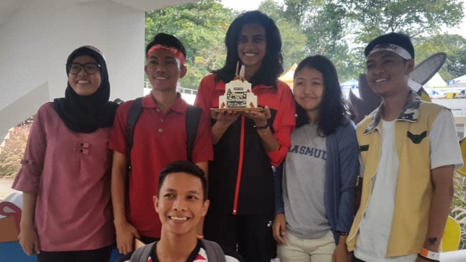 PV Sindhu,Badminton,Indonesia Open