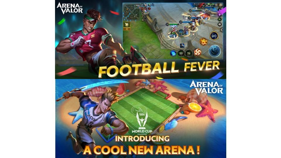 Arena Of Valor,Arena Of Valor Football Mode,Moba
