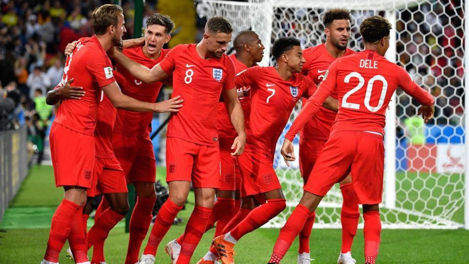 FIFA World Cup 2018,England football team,Kylian Mbappe