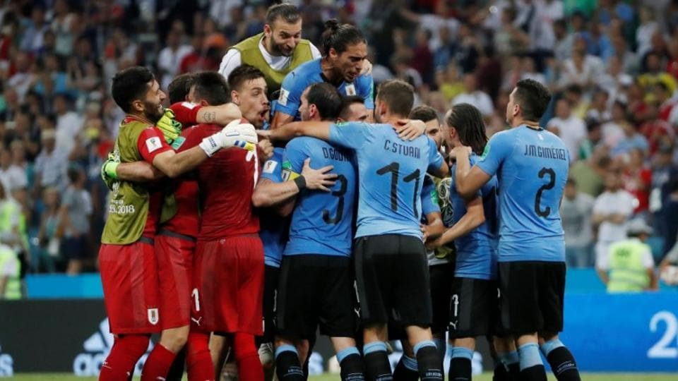 The winner of the match will play Brazil or Belgium in the semi-final in Saint Petersburg on July 10. (Reuters)
