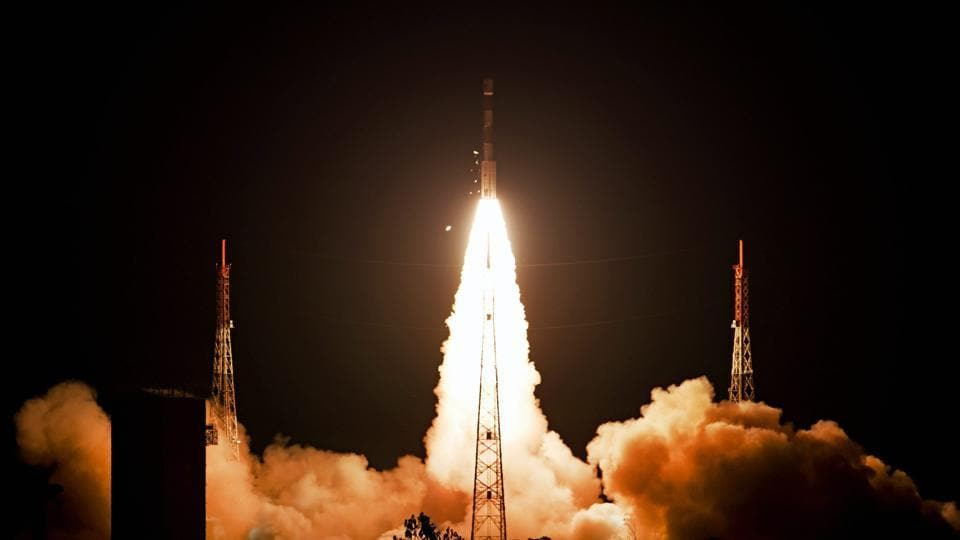 ISRO said the five-hour countdown was smooth. The crew escape system along with the simulated crew module with a mass of 12.6 tonne, lifted off at 7 am at the Satish Dhawan Space Centre in Sriharikota in Andhra Pradesh.