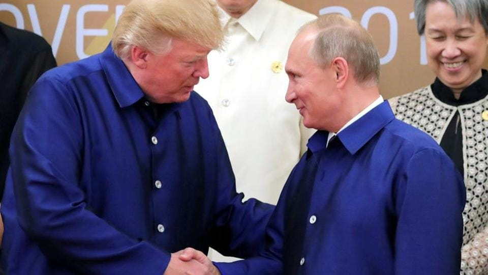 Donald Trump,Vladimir Putin,US-Russia summit