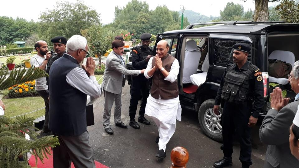 Rajnath Singh,Kashmir,Efficient administration