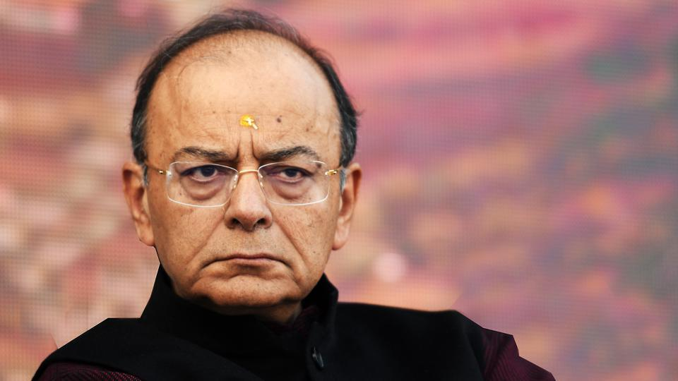 Union finance minister Arun Jaitley said on Thursday the Supreme Court's ruling over the fight for control of Delhi does not add or take away from the powers of the state government and the Centre even as the Aam Aadmi Party (AAP) accused the Lieutenant Governor and bureaucrats of disrespecting Wednesday's order. (Raj K Raj / HT Photo)