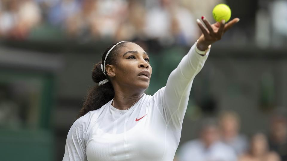 Serena Williams is playing her first Wimbledon since she married Reddit co-founder Alexis Ohanian in November.