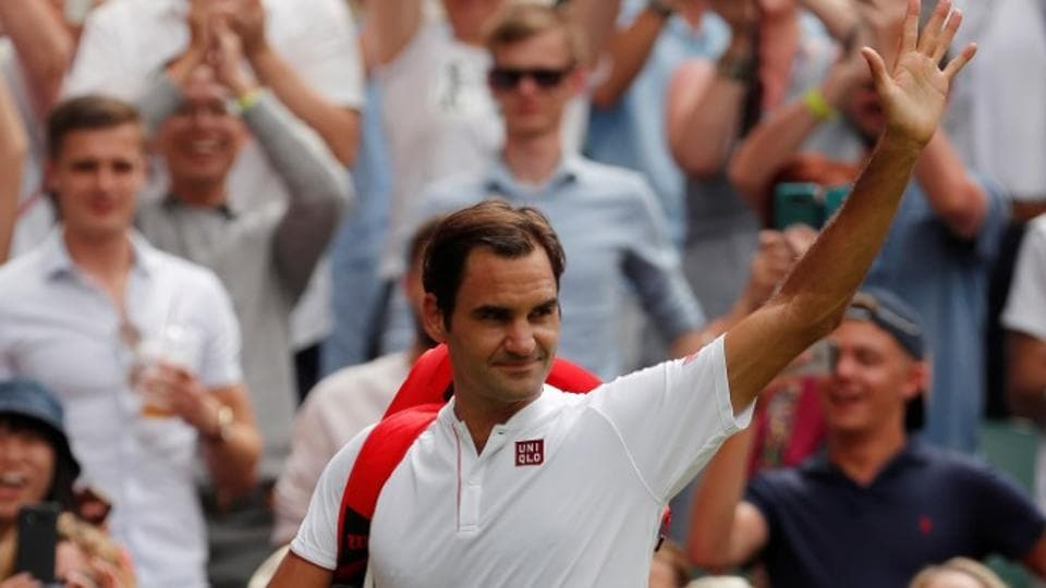Roger Federer compiled 48 winners and just 11 unforced errors during his Wimbledon second round match against Slovakia's Lukas Lacko.