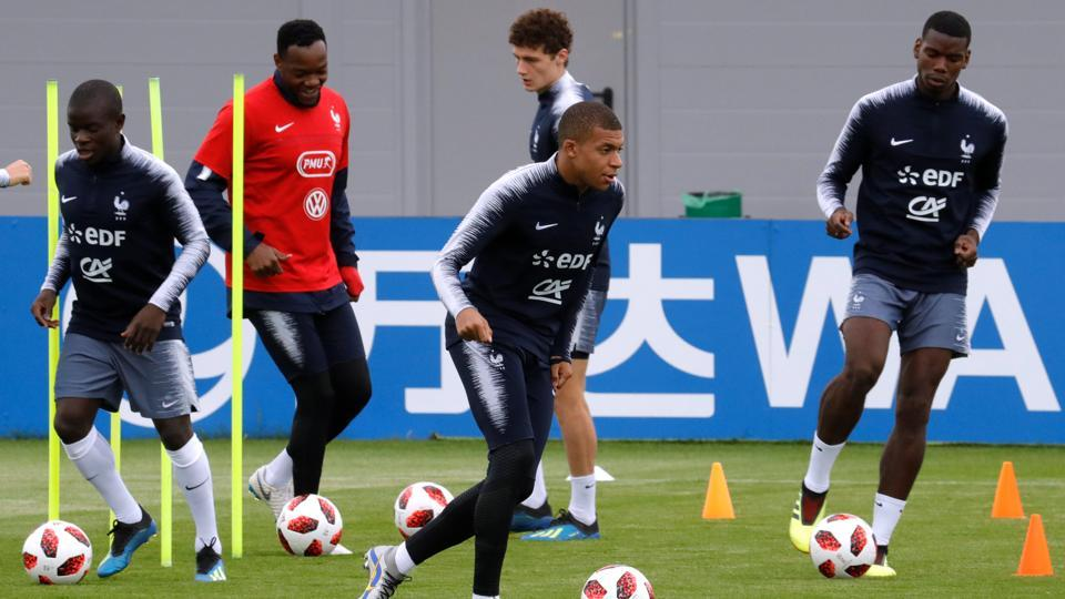 Mbappe's three goals are the most by any French player in this World Cup. (REUTERS)