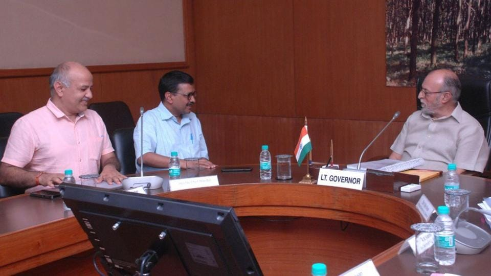 Arvind Kejriwal,Manish Sisodia,Lieutenant Governor