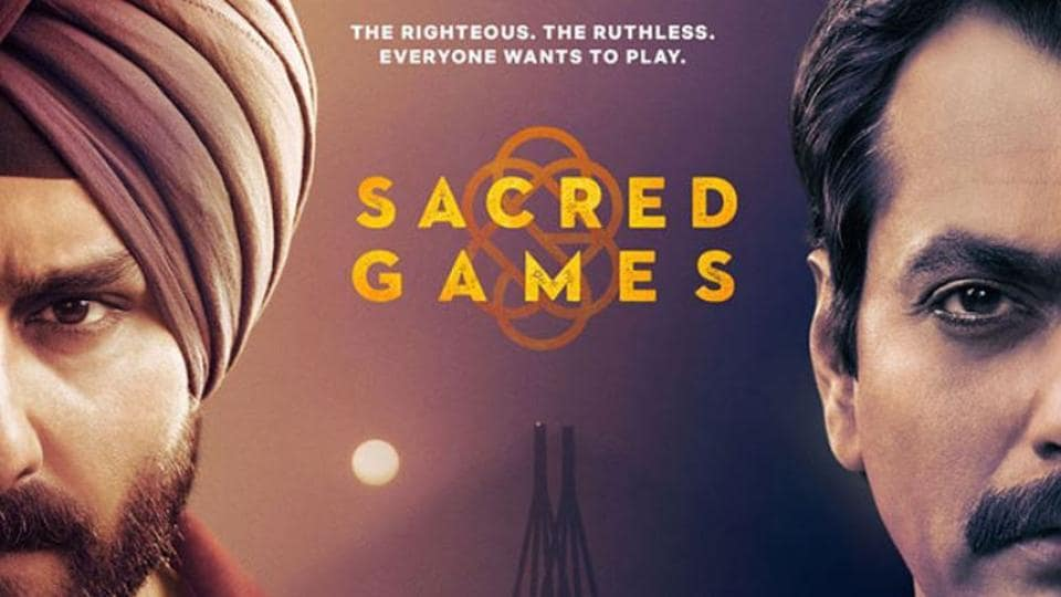 Sacred Games is directed by Anurag Kashyap and Vikramaditya Motwane.