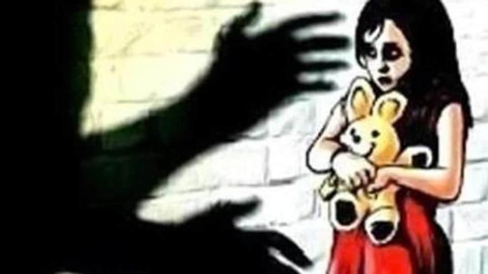 Pavan Raigar allegedly raped the four-year-old girl on Monday night.