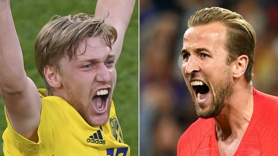 FIFAWorld Cup 2018,Sweden football team,england football team
