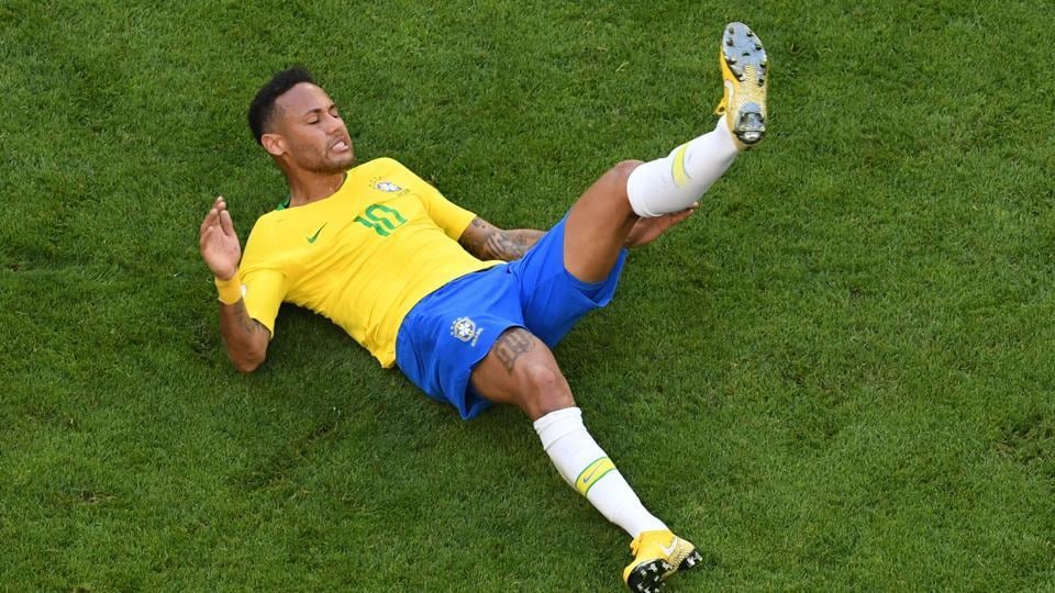 Football fans ridicule Brazil star as 'Neymar Challenge' goes viral online