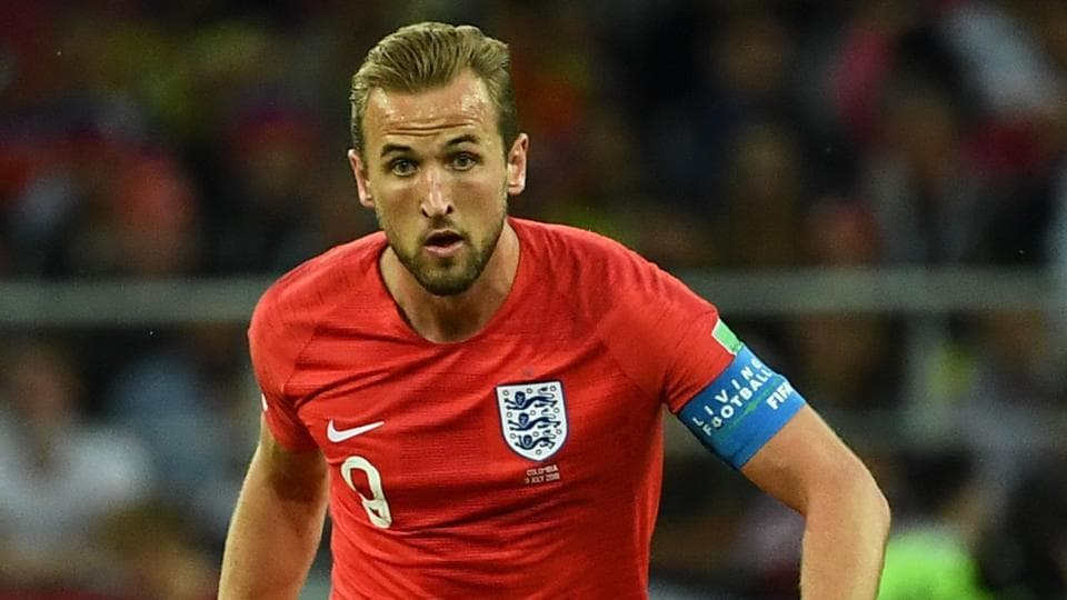 England's forward Harry Kane has six goals at FIFA World Cup 2018.