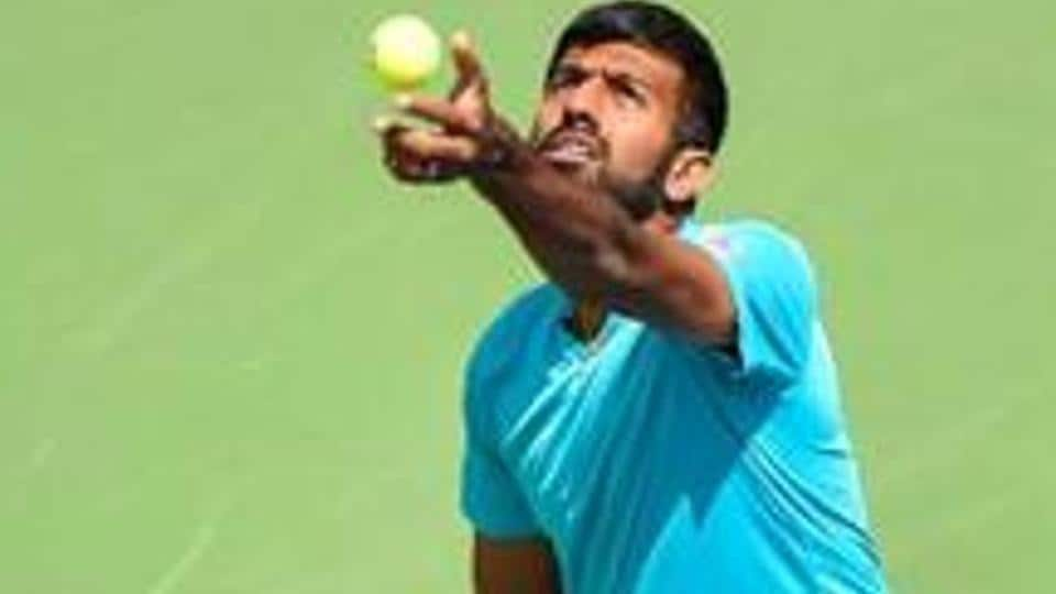 Rohan Bopanna and his French partner Edouard Roger-Vasselin lost against Frederik Nielsen and Joe Salisbury.