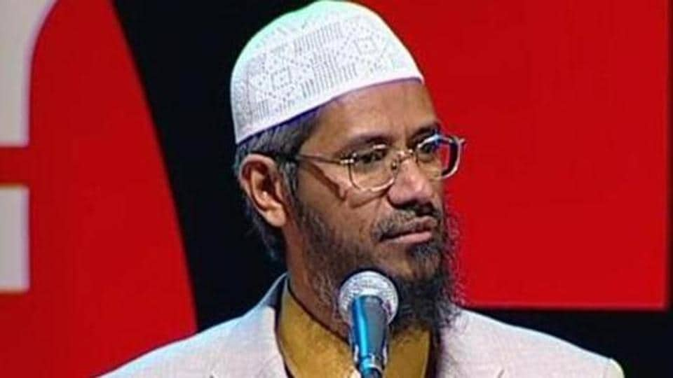 File photo of Zakir Naik.
