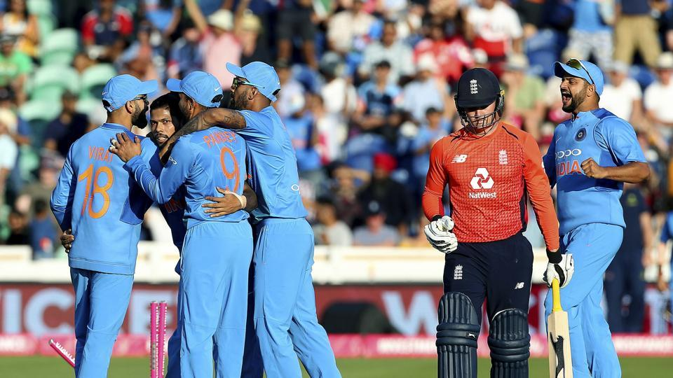 Umesh continued to do well as England stuttered at the start of the powerplay. (AP)