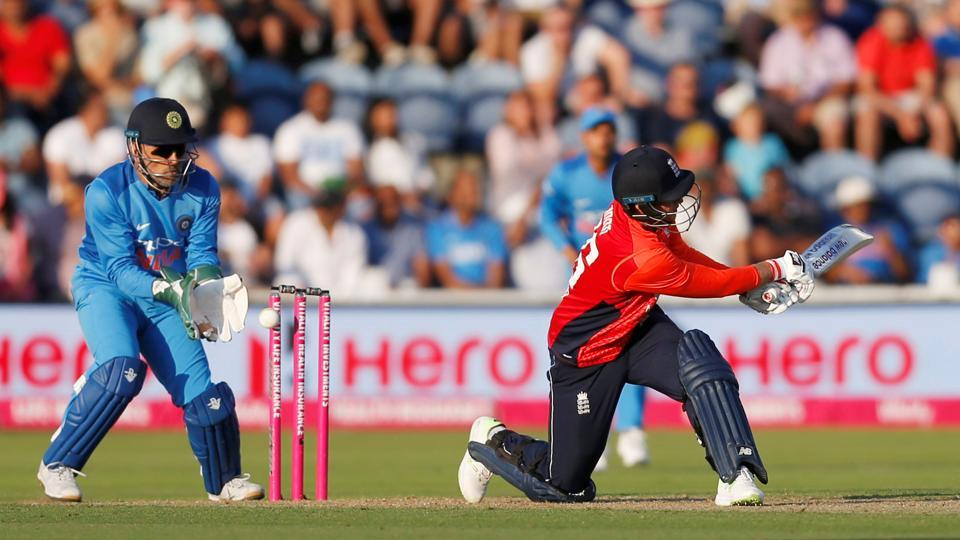 Joe Root was cleaned up by Yuzvendra Chahal as England struggled. (REUTERS)