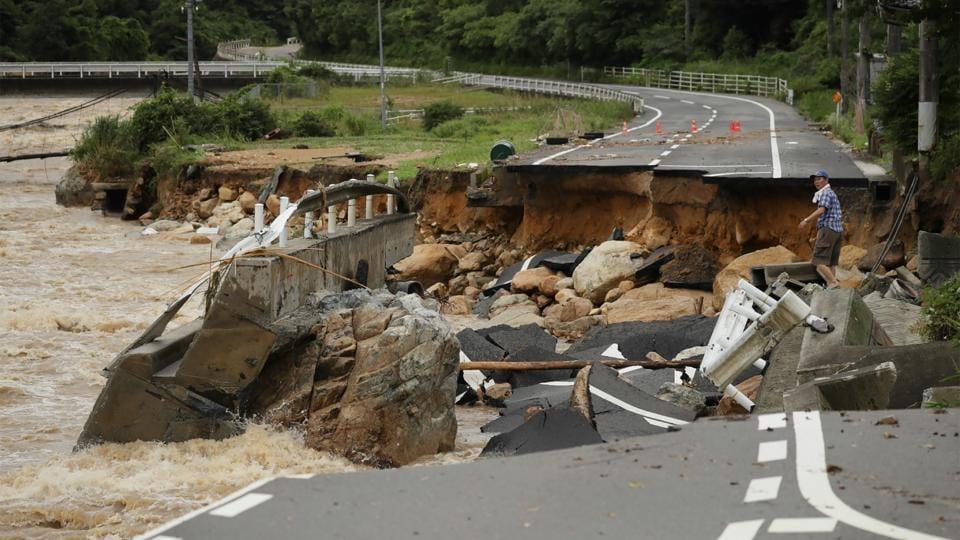 38 killed, 50 missing as torrential rain hits Japan, over ...