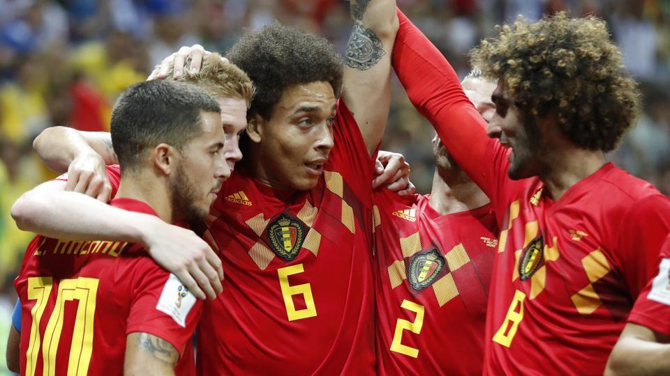 Belgium, which last reached the semi-finals in 1986, will next face 1998 champion France in St. Petersburg. (AP)