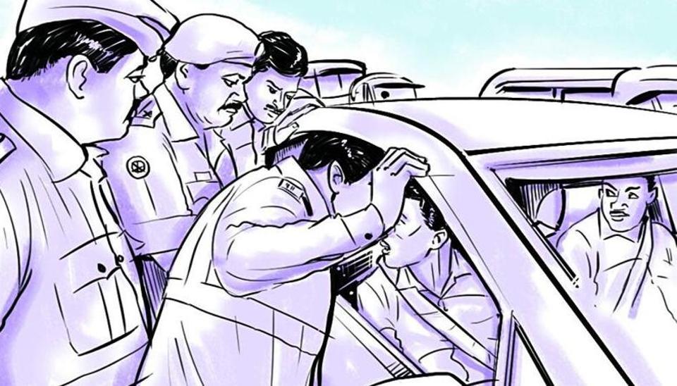 Bihar,Uttarakhand tax officer,Drunk officer