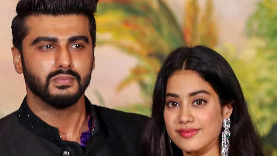 Arjun Kapoor,Boney Kapoor,Khushi Kapoor