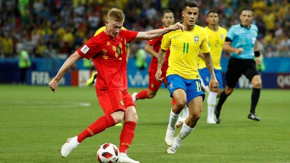 FIFA World Cup 2018,Brazil football team,Belgium football team