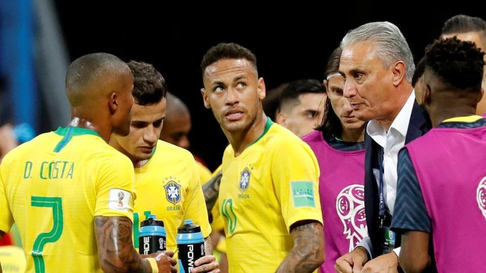 FIFAWorld Cup 2018,Brazil football team,Belgium football team