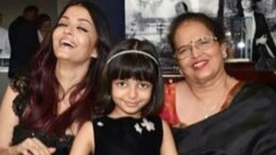 Aishwarya Rai Bachchan,Aaradhya Bachchan,Brindya Rai