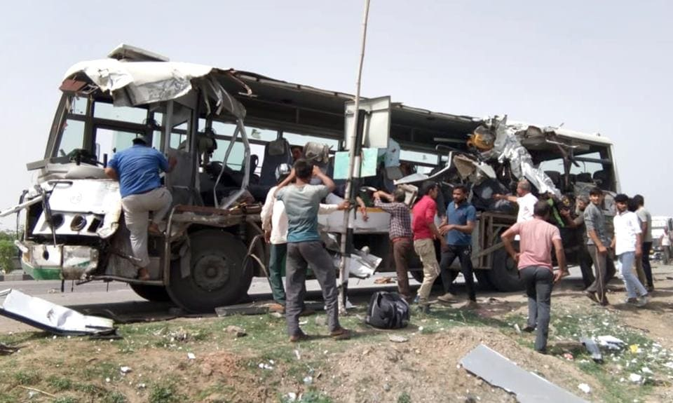 Rajasthan,Road accidents,12 killed