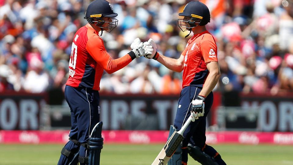 Jason Roy and Jos Buttler provided England with a brilliant start. (REUTERS)