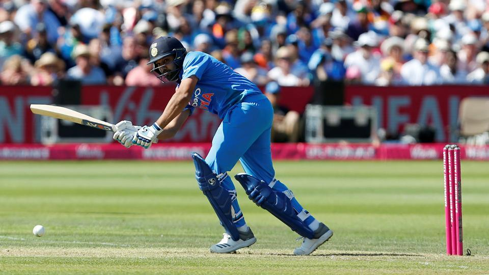 Rohit Sharma was in fine form for India in Bristol. (REUTERS)