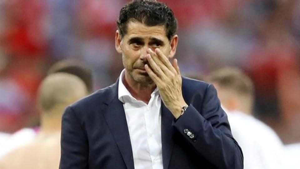 Fernando Hierro,Spain head coach,Spain