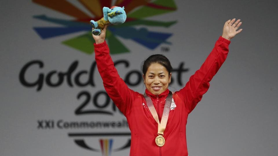 Weightlifter Mirabai Chanu had won a gold in the women's 48kg category at the World Championships held in United States last November.