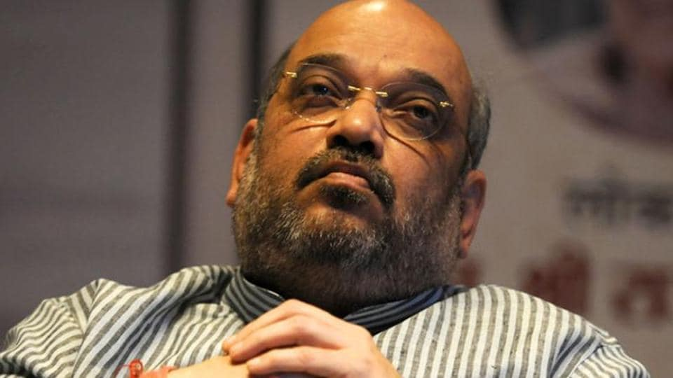 Amit Shah,Amit Shah stuck in lift,Patna