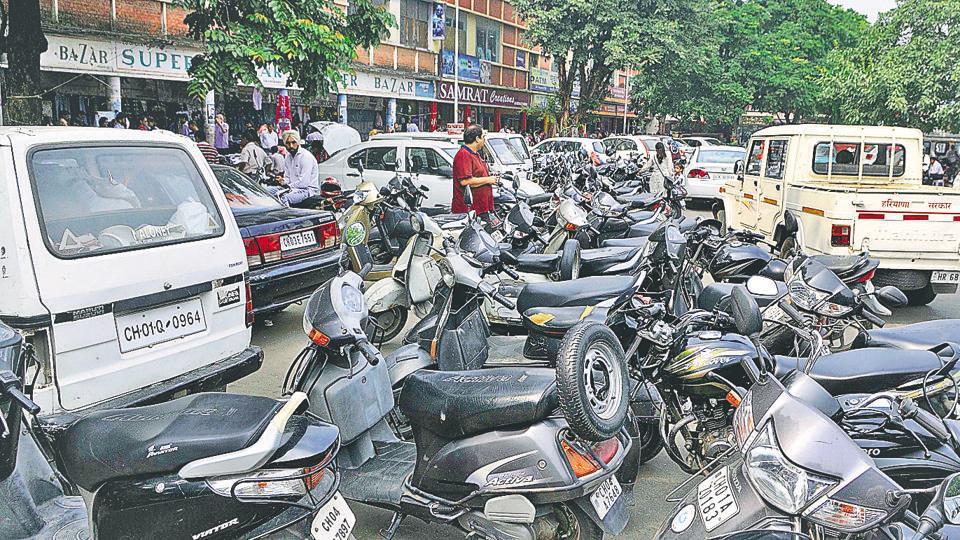 Paid PArking,Chandigarh Parking,Paid parking in Chandigarh