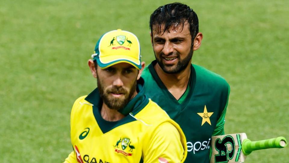 Glenn Maxwell,Sarfraz Ahmed,Australia vs Pakistan