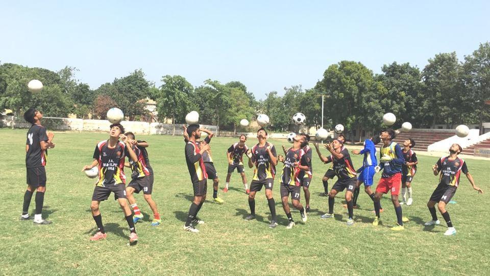 Hoshiarpur,Mahilpur football academy,Football