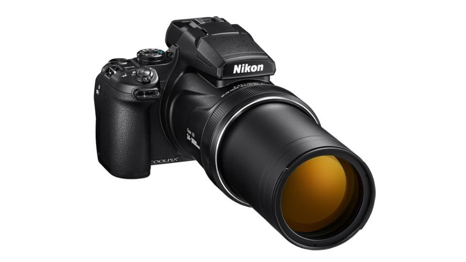 Nikon Coolpix P1000 features 125× optical zoom NIKKOR lens.