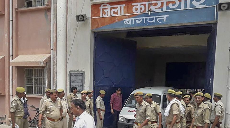 munna bajrangi,gangster munna bajrangi shot dead,baghpat jail