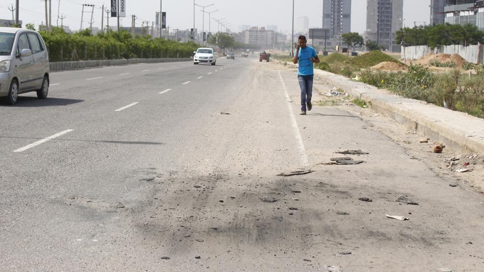 Gutted cars,Gurgaon police,Gurugram police