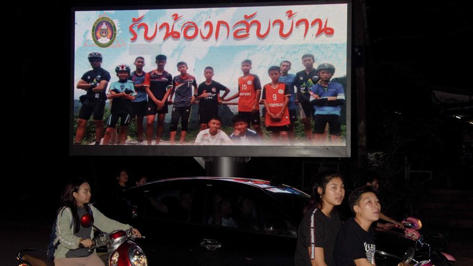 Thailand cave rescue,Fifa final,World Cup final