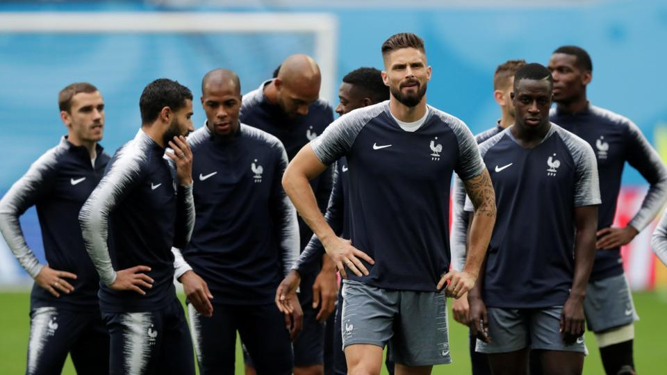 FIFA World Cup 2018,France vs Belgium,Roberto Martinez