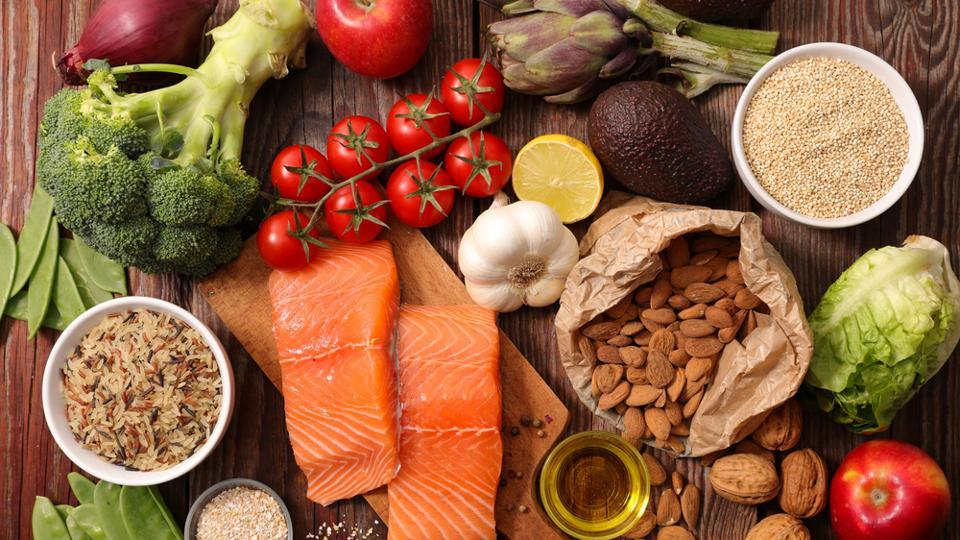 A Mediterranean diet can protect you from osteoporosis, heart problems, dementia, and brain function.