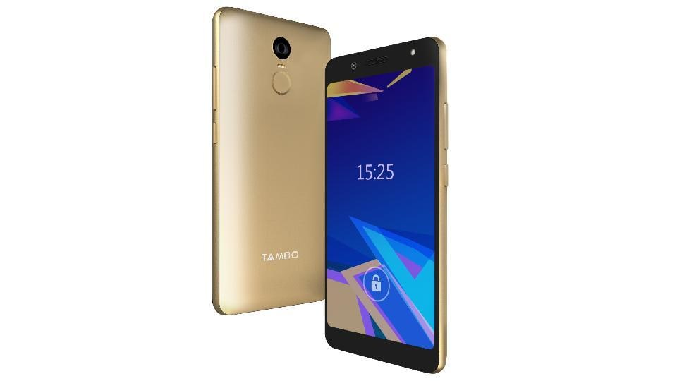 Tambo TA-4 features a 5.45-inch HD display with 18:9 aspect ratio.