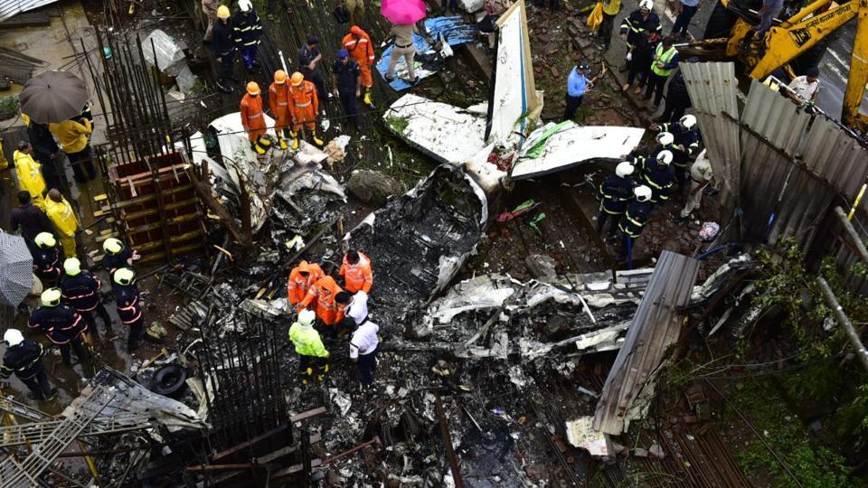 Mumbai aircraft crash,judicial probe,Ghatkopar air crash
