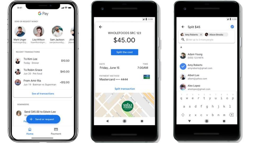 Google Pay's latest features will first roll out to users in the US followed by the UK.