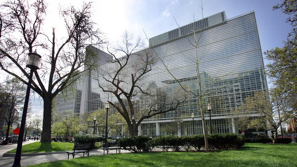 World Bank headquarters in Washington, DC.  India is now the world's sixth largest economy, with GDP of $2.597 trillion at the end of last year.